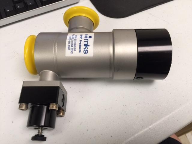 Valve MKS/HPS  L2-40-RK-225-VNVNH Vacuum Righ Angle, 2 STAGE LPV KF40