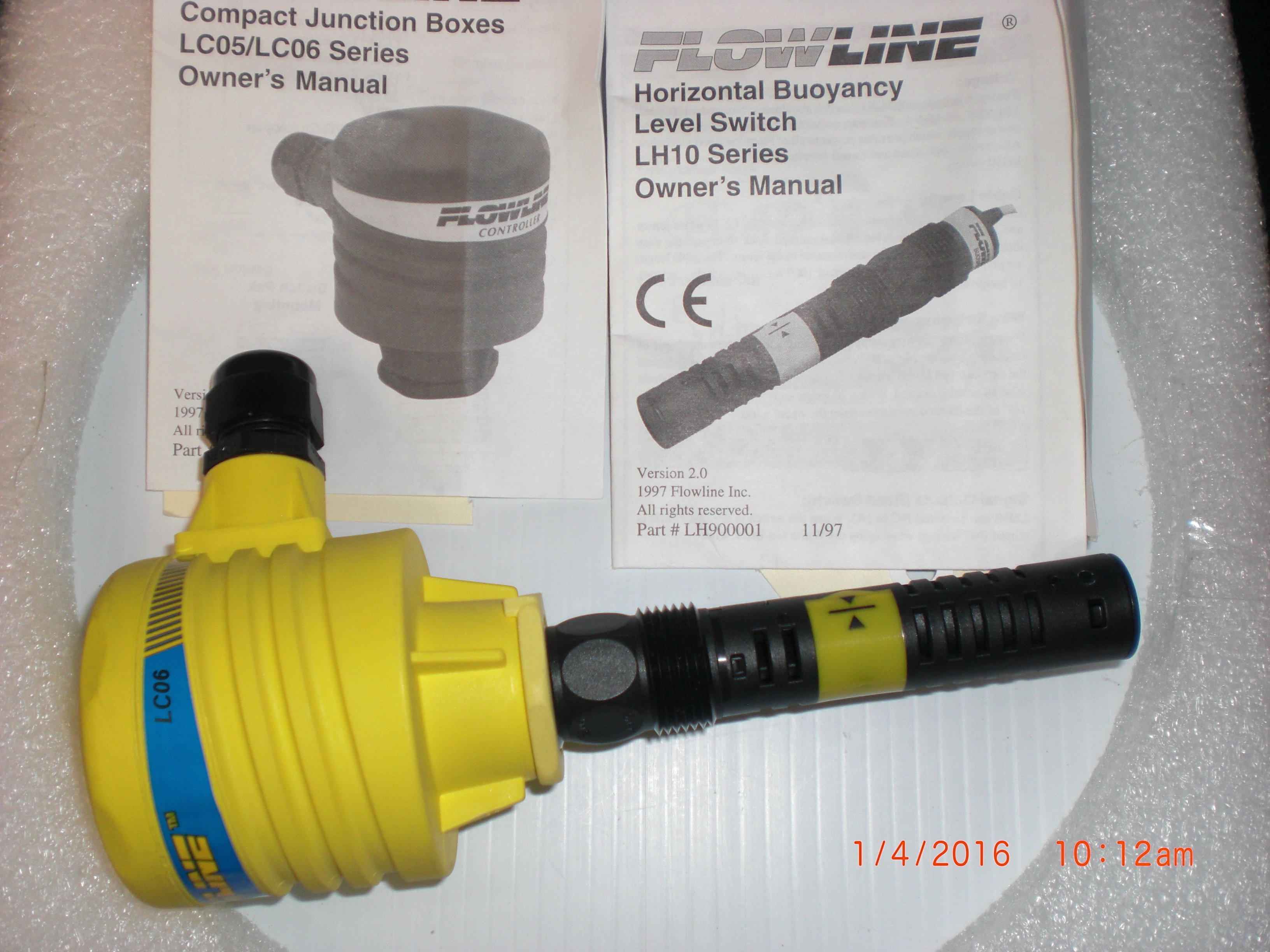 Sensor FLOWLINE LH10 level with LC06 junction box
