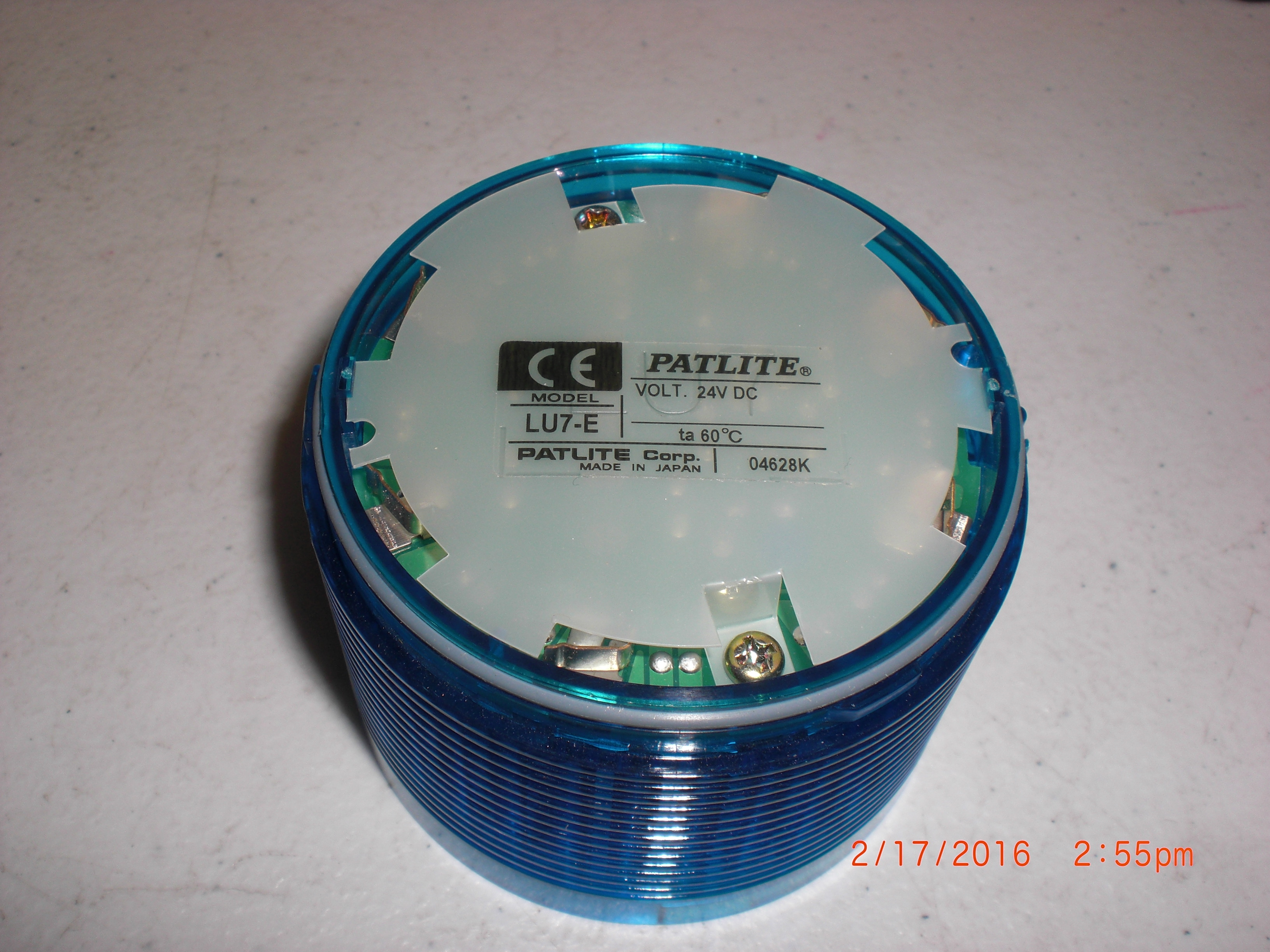 Lamp PATLITE LU7-E-B Module Blue LED  70mm