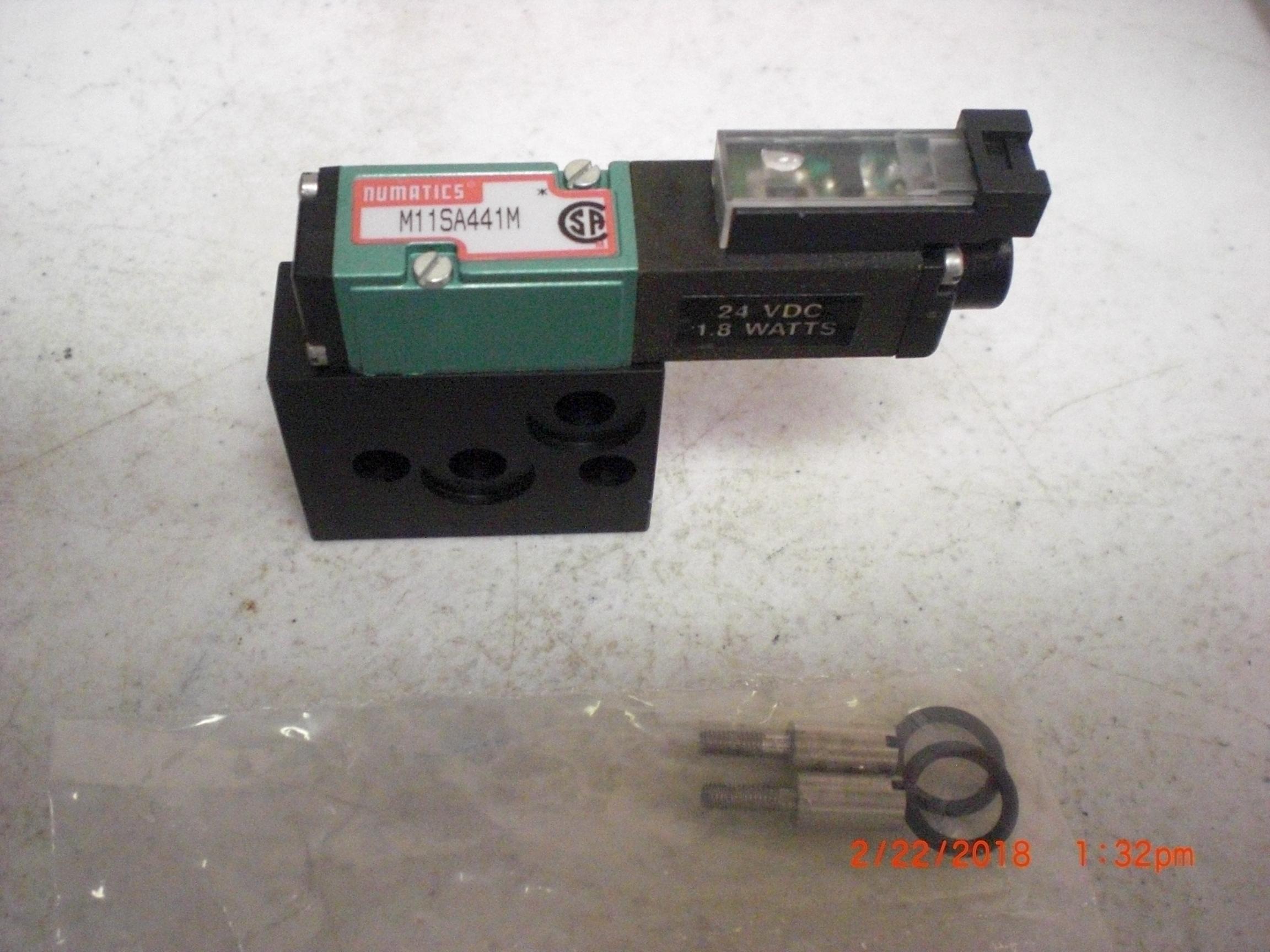 Valve NUMATICS M11SA441M Selenoid 24VDC