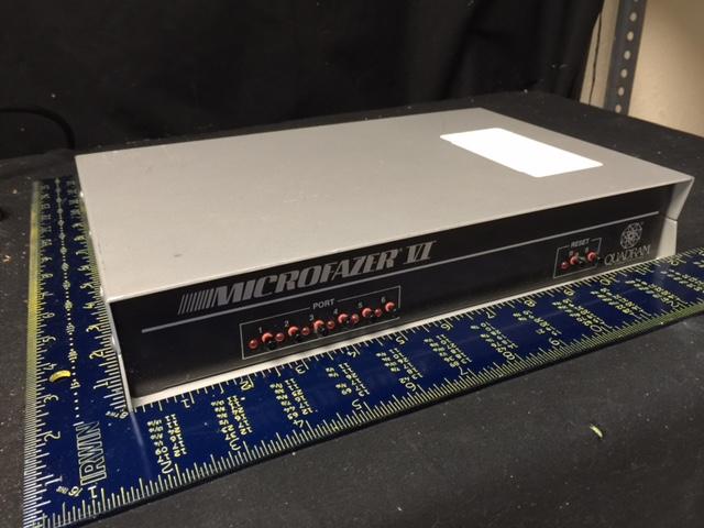Computer Accessory LAN DATA SWITCH QUADRAM MICROFAZER VI 4S/2P No Power Cord