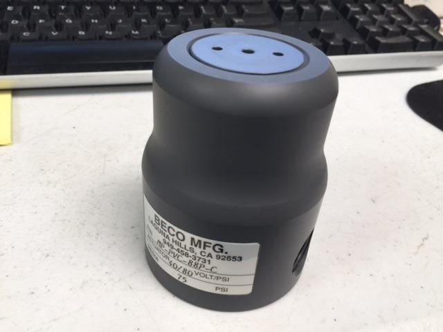 Valve BECO MP-PVC-88P-C VALVE AIR 1/2 FNPT N/C PVC