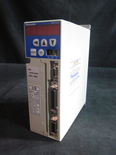 motor Controller AC SERVO DRIVER PANASONIC MSD023A1XX22