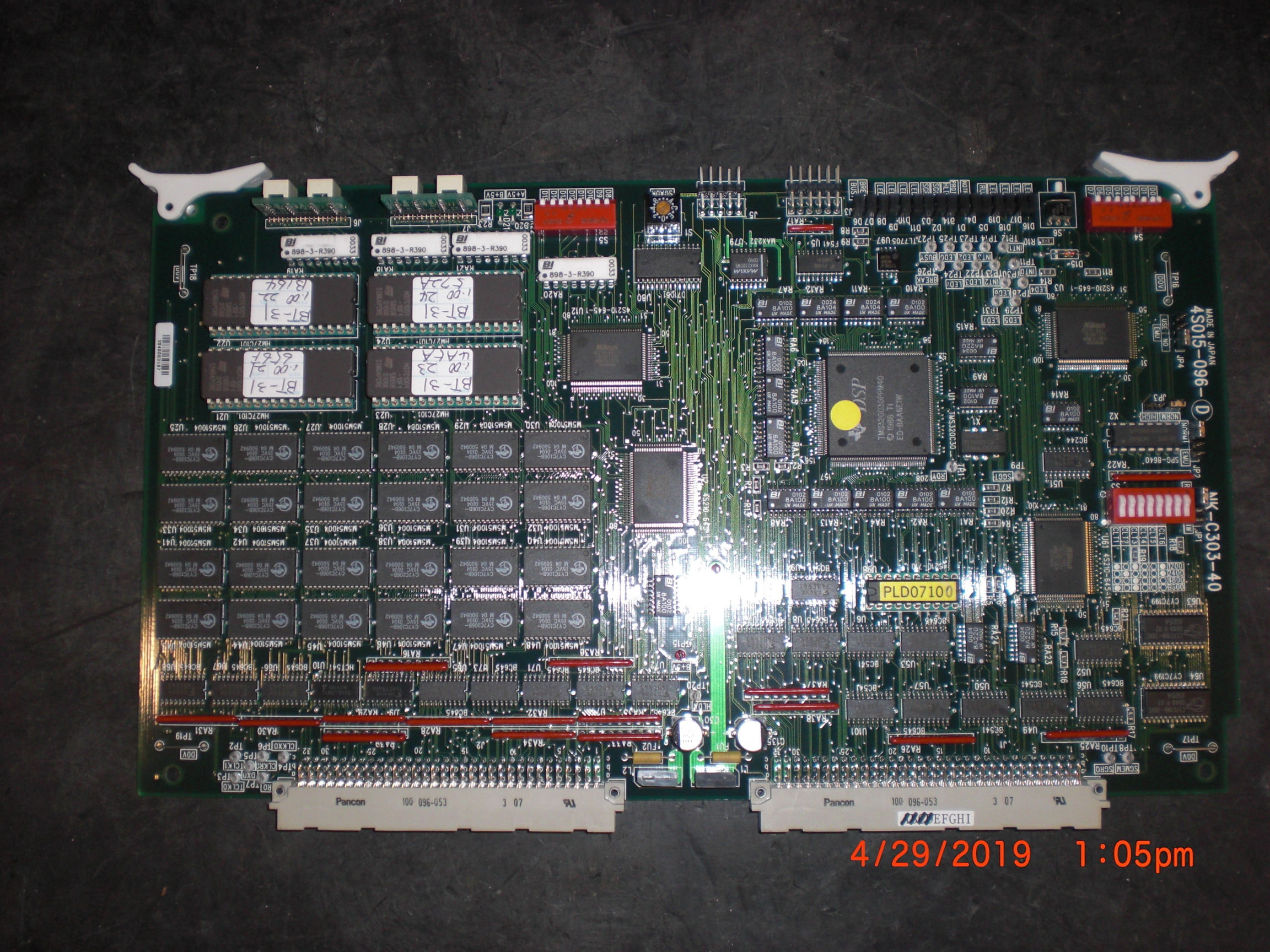 PCB NIKON NK-C303-40 4S015-096-D Processor