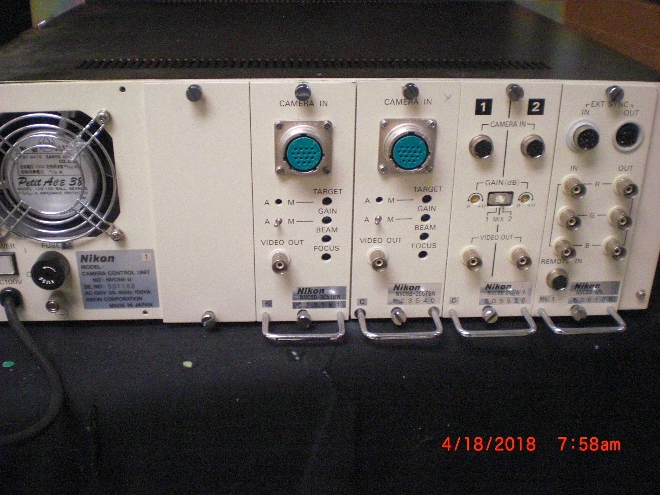 Camera NIKON NVC6B-U i9 Camera Control unit
