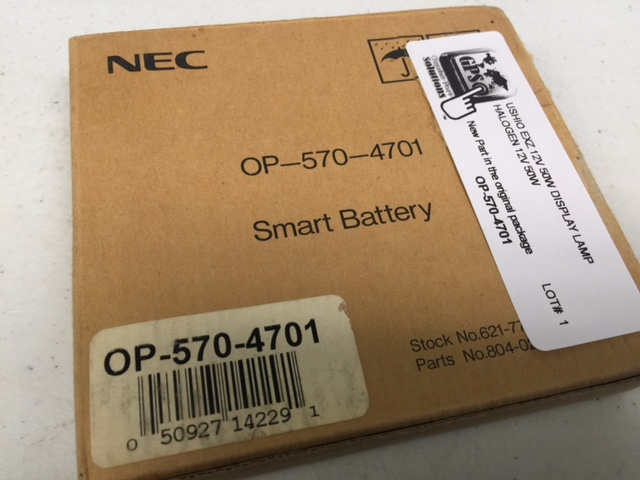 Battery   Ni-MH 7.2v 3800mAh NEC Technologies OP-570-4701