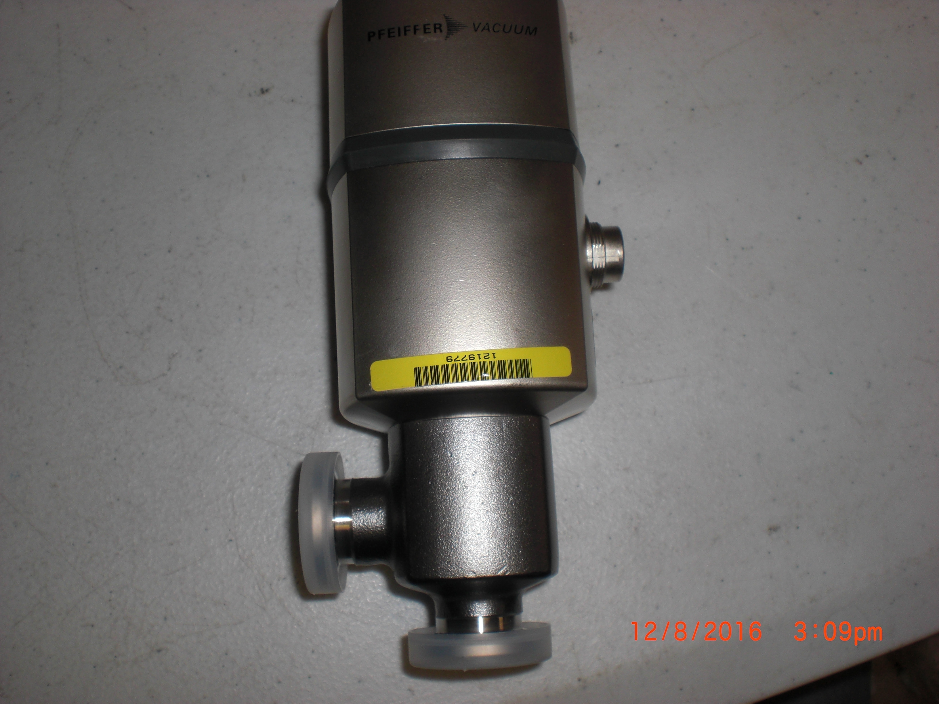 Valve PFEIFFER PF139931 EVR 116, Gas regulating valve NW16,no return - core priced