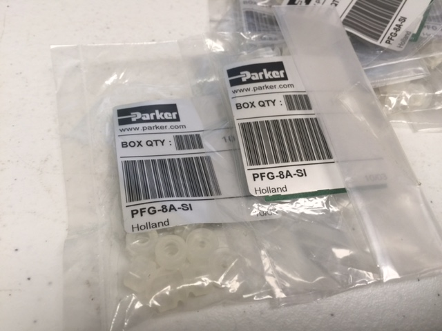Hardware SUCTION CUPS (CONVUM 370520) (10 PKG) PARKER PFG-8A-SI