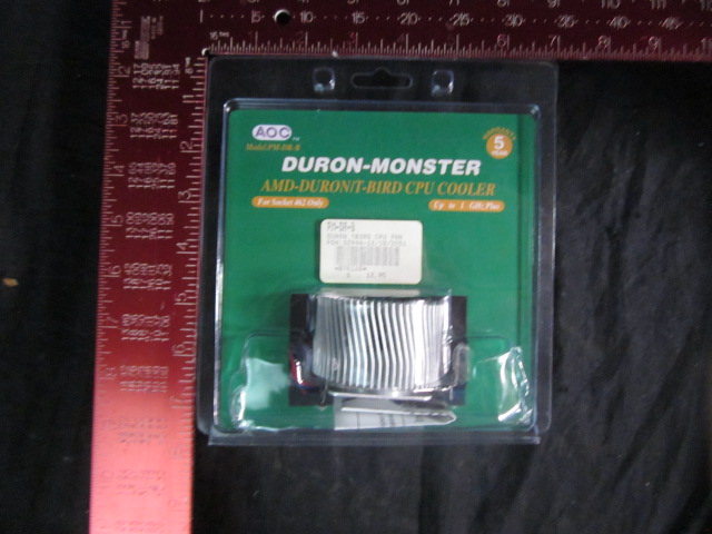 Computer Accessory AOC PM-DR-B Cooler CPU AMD-DURON/T-BIRD; FOR SOCKET 462 ONLY