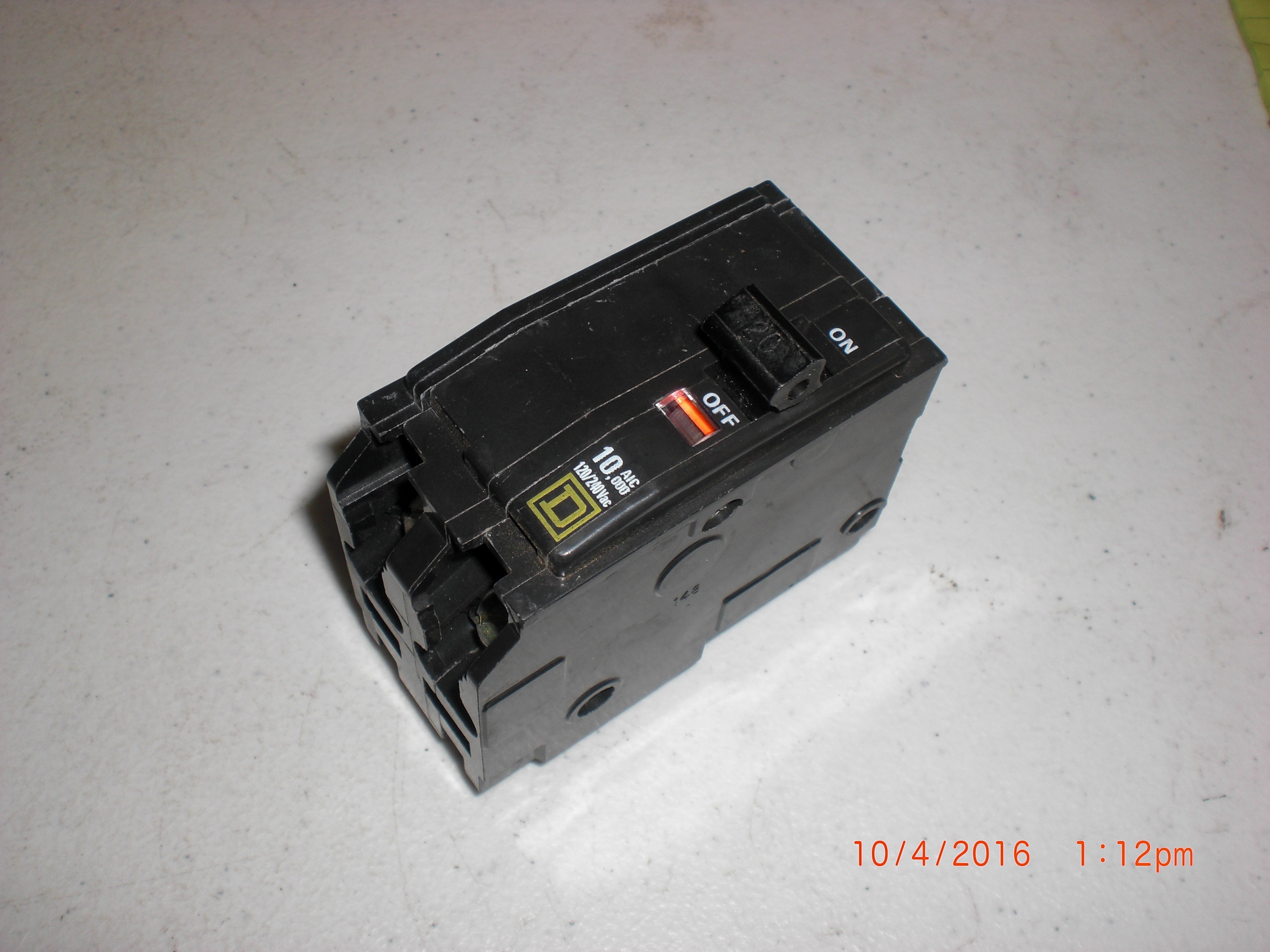 Electrical SQUARE D QO220 20-Amp 2-Pole Circuit Breaker