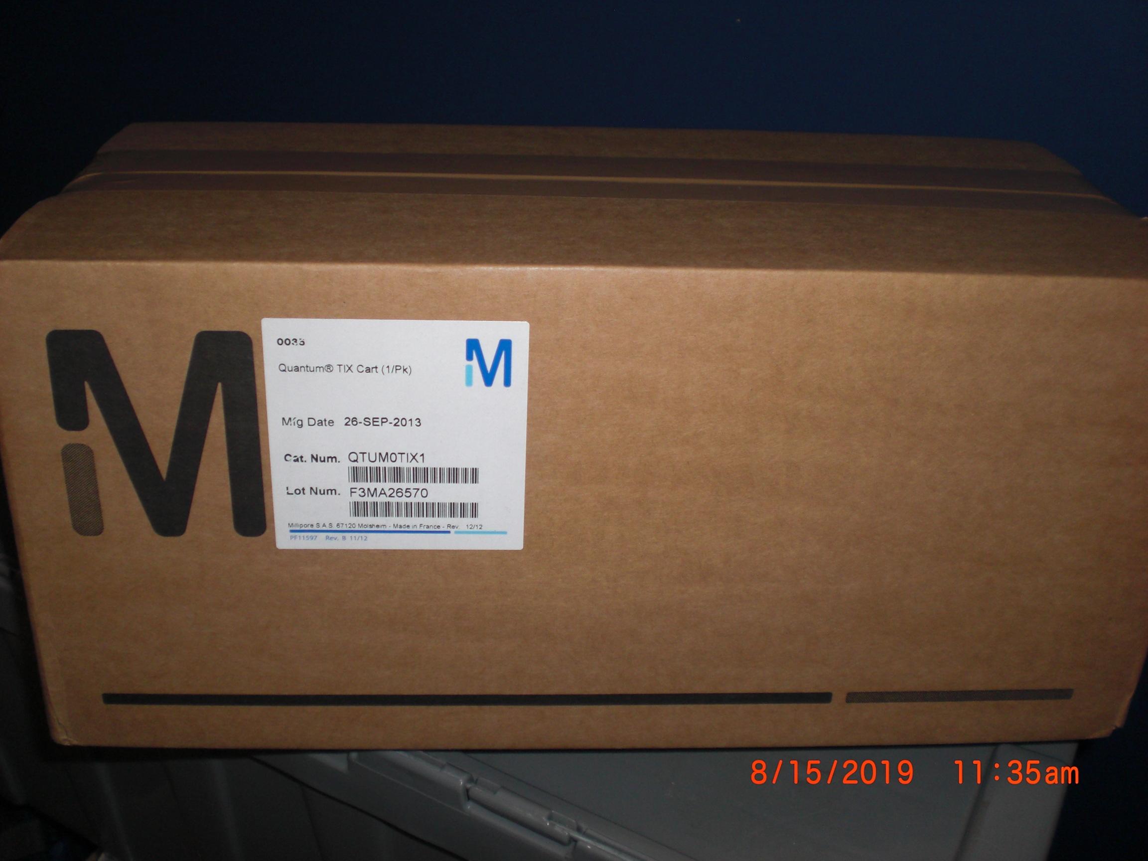 Filter  MILLIPORE Mykrolis QTUM0T1X1 Quantum T1X Cart (1/PK)