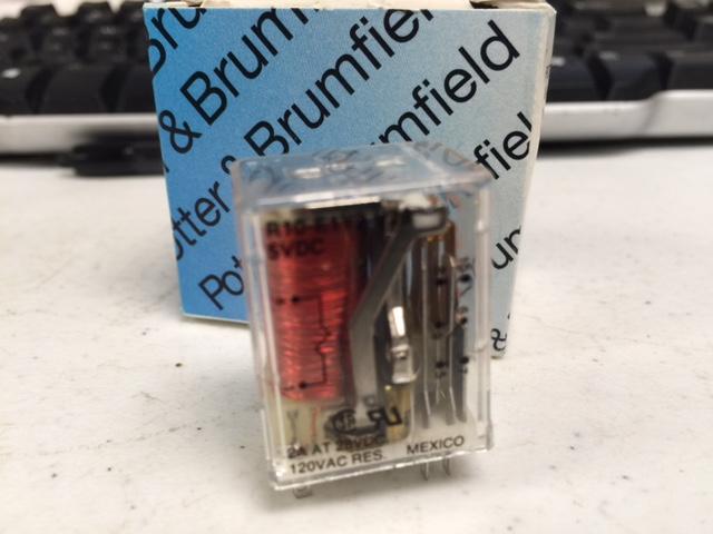 Relay POTTER & BRUMFIELD R10-E1Y2-U28  (2073)