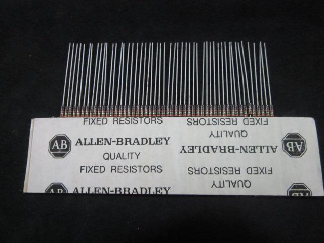 Cable ALLEN BRADLEY RCR07G113JR 11K OHMS  1/4 WATT RESISTORS (50 PKG)