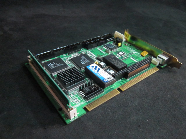 PCB AAEON SBC-411E-411 The SBC-411/411E is an all-in-one single board 486 computer with an onboard PCI Ethernet interface (SBC-411E). It packs all the functions of an industrial computer and its display capabilities into a single, half-size card. This mea