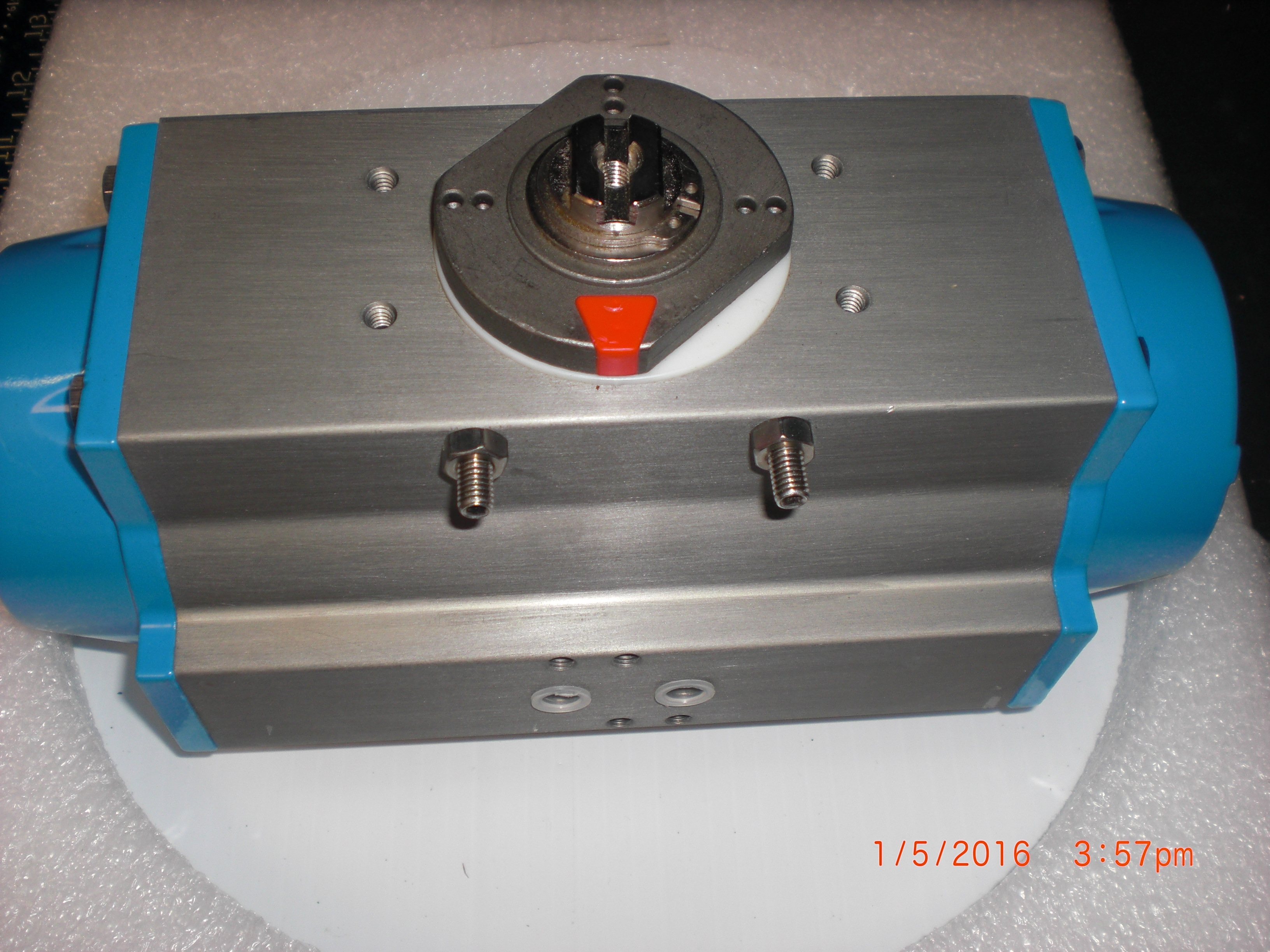 Actuator Pneumatic Valve ball / butterfly  dual action  VALBIA SR85