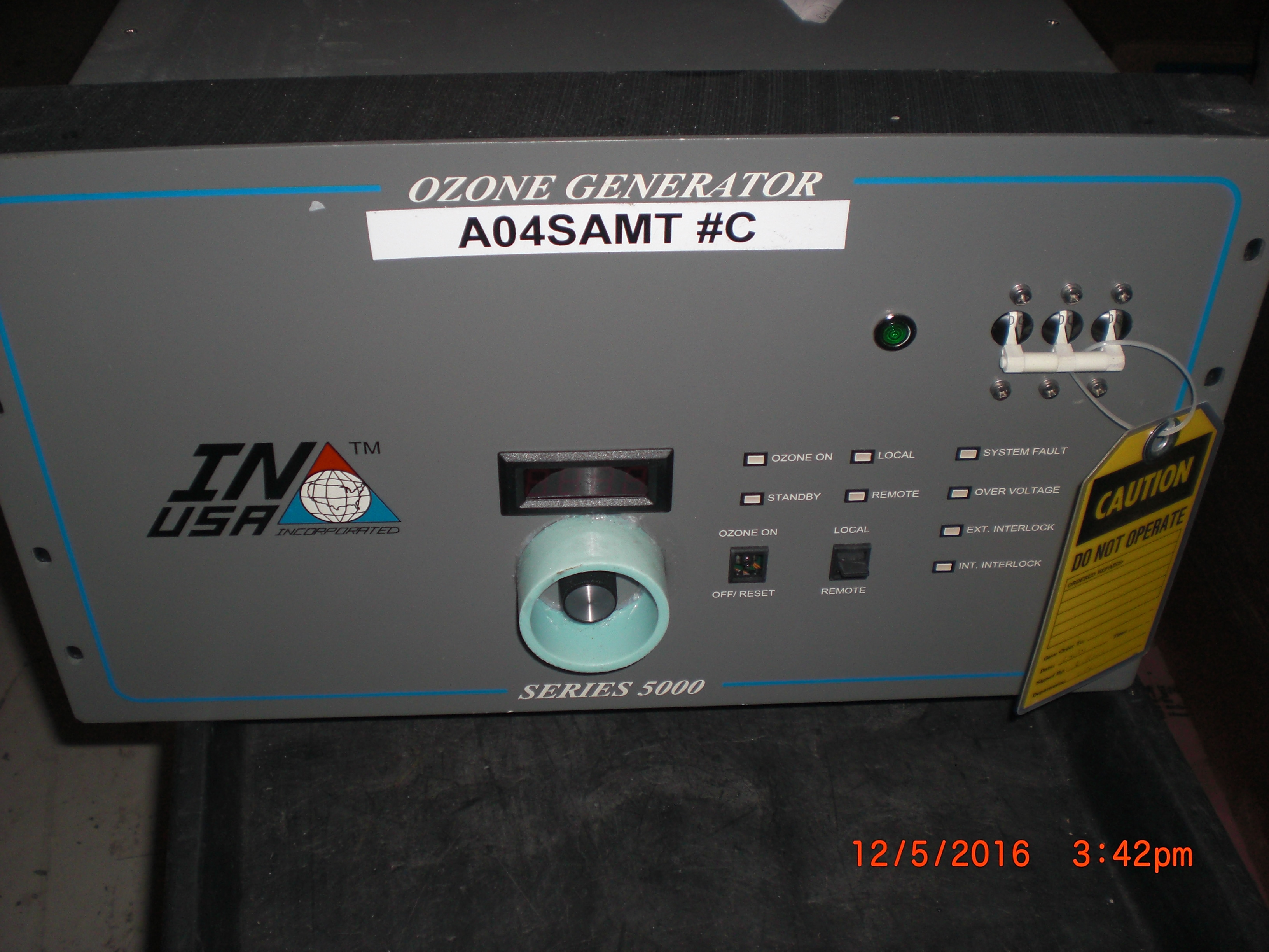 Generator Ozone IN USA Series 5000 UN-TESTED NO REFUNDS