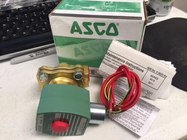 Valve ASCO T 662581 VALVE SOLENOID