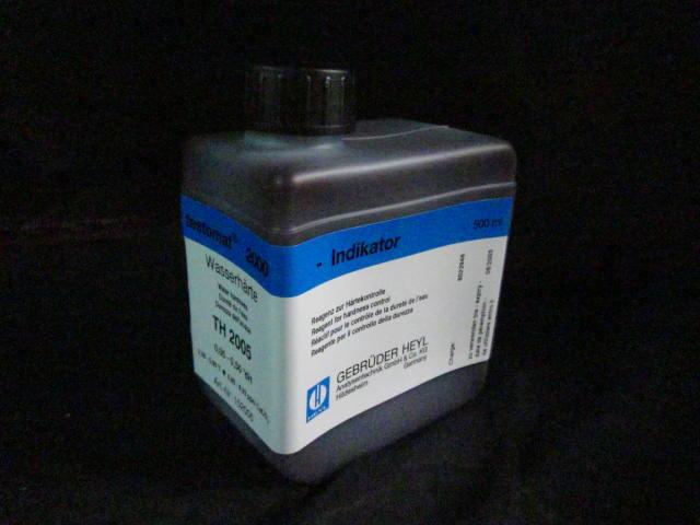 Instrument Testomat Reagent HEYL TH 2005 Test Indicator 0.5 l, f  2000, 500 ml