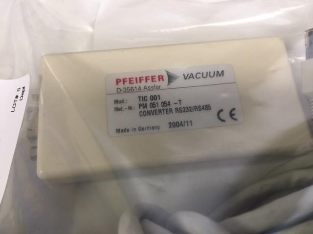 Cable PFEIFFER VACUUM TIC 001 CONVERTER RS232/RS485 - D-35614 ASSTAR