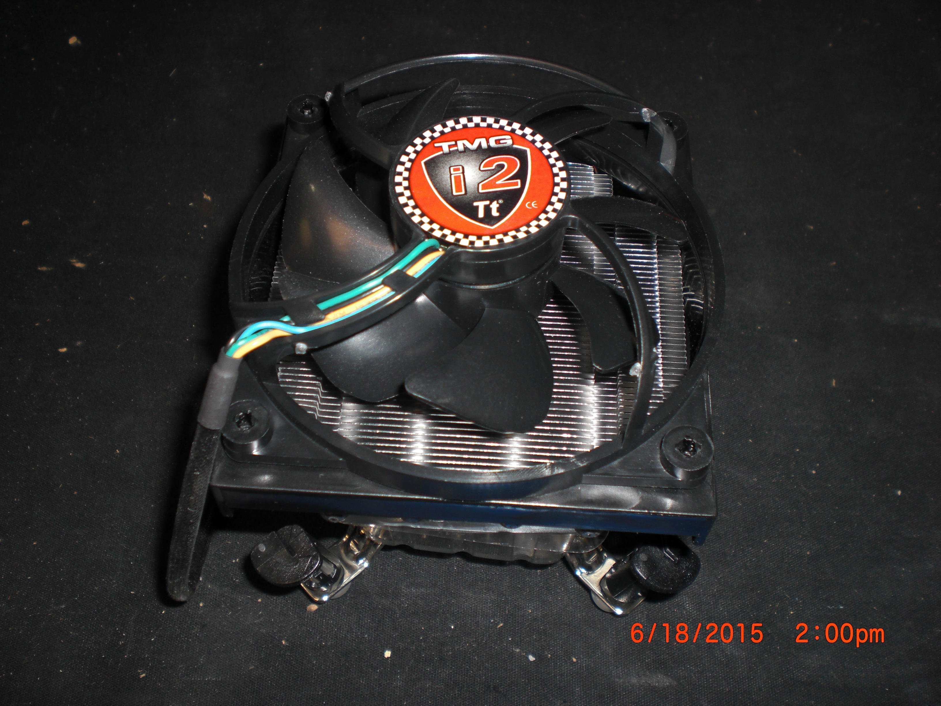 Computer Accessory THERMALTAKE TMG-i2 Socket 775 / Copper Base / CPU Cooler