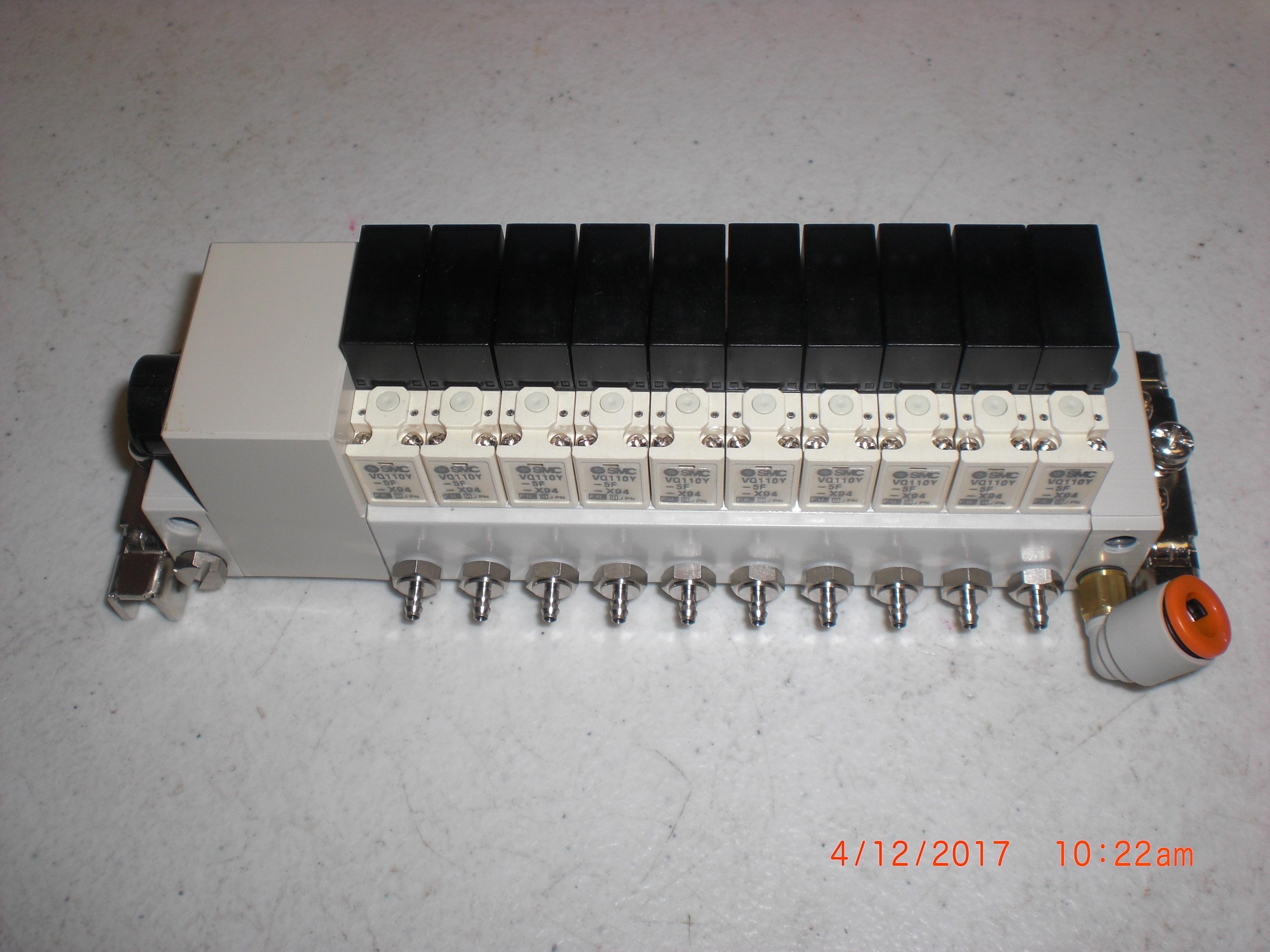 Valve SMC VV3Q11-ULB97019 Solenoid manifold 10 position