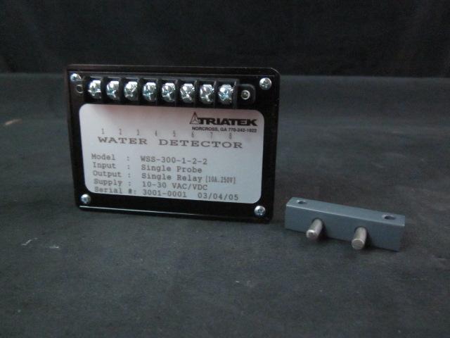 Sensor Water Detector, Single Probe. 24 VDC Triatek WSS-300-1-2-2