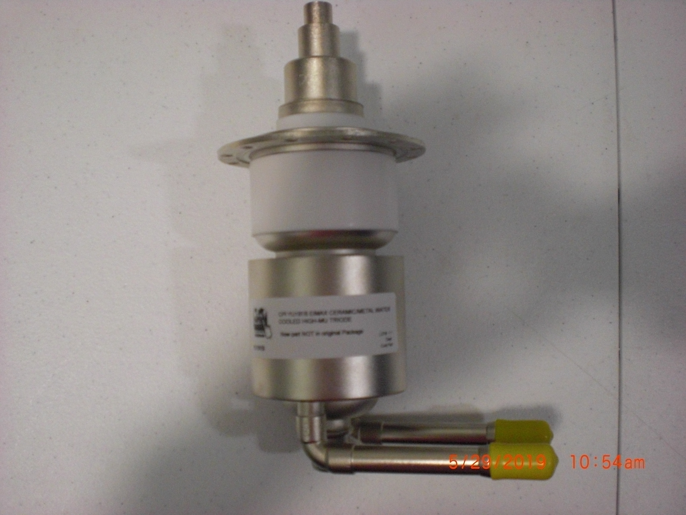 Amplifier CPI YU191B EIMAX Ceramic/Metal Water Cooled High-MU Triode