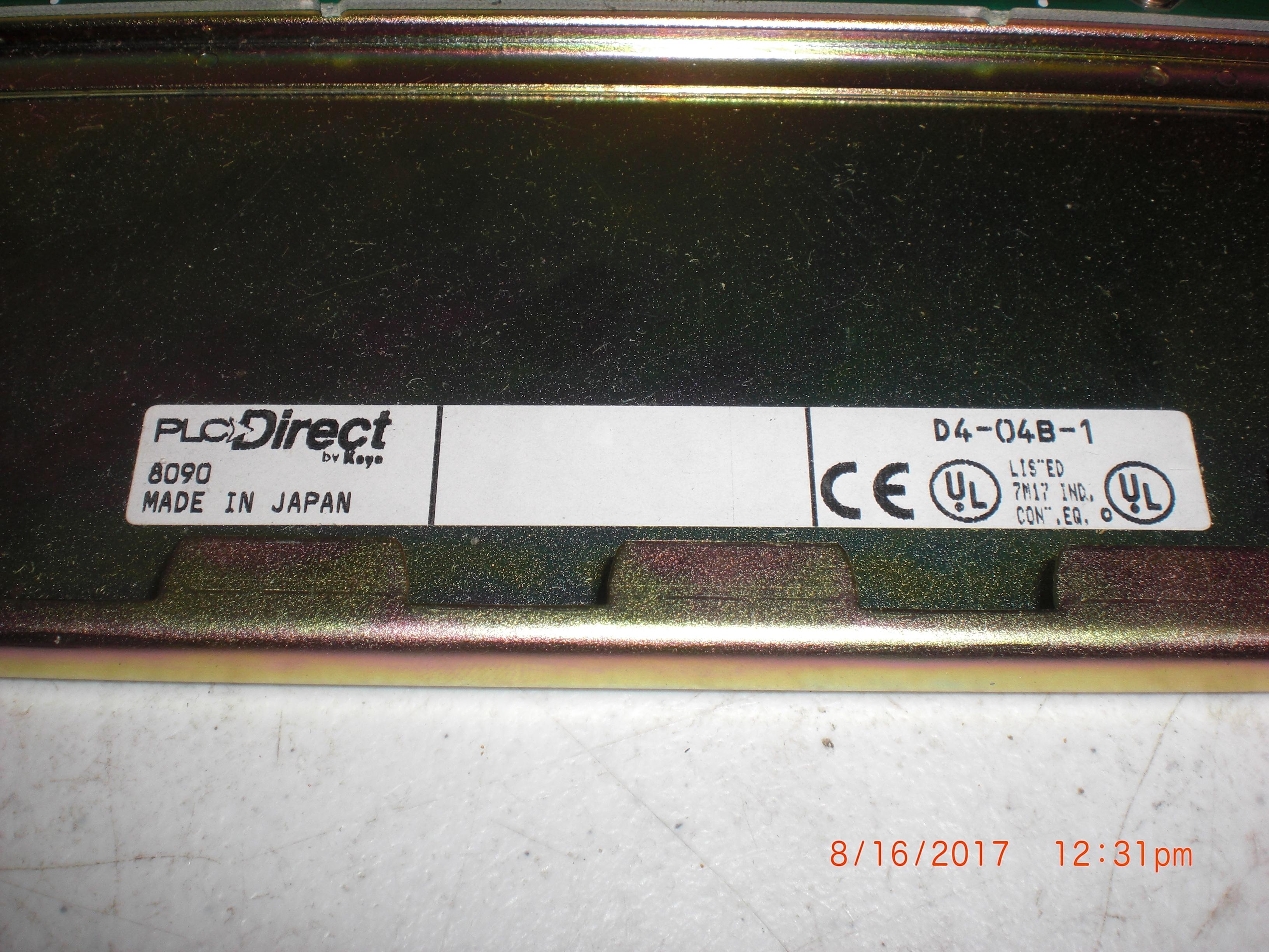 PLC DIRECT D4-04B-1 BASE