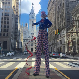 10 Foot Tall Andrew - Stilt Walker in Philadelphia, Pennsylvania