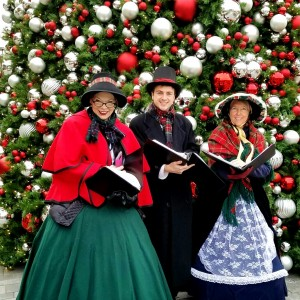 42nd street singers christmas carolers in washington district of columbia