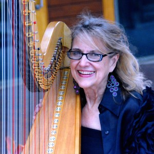 Harpist Margaret Atkinson - Harpist / Jazz Pianist in Dallas, Texas