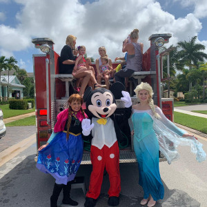 5 Stars Party Characters - Princess Party in Pembroke Pines, Florida