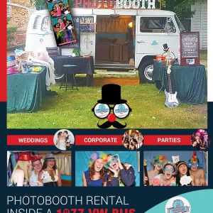 77 VW Bus PhotoBooth - Photo Booths / Prom Entertainment in North Attleboro, Massachusetts