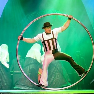 """ German Wheel&Cyr Wheel"" - Circus Entertainment / Traveling Circus in Sarasota, Florida"