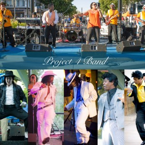 """ Project 4 Band "" - Dance Band / Michael Jackson Impersonator in Pittsburg, California"