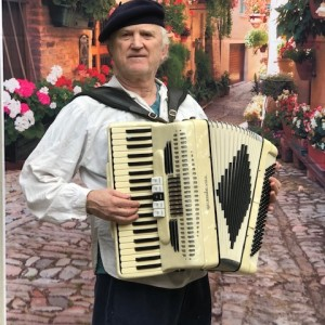 A-A Strolling Accordion For Parties & Weddings - Accordion Player in Sausalito, California