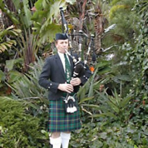 A Celtic Traveler - Bagpiper in Redondo Beach, California