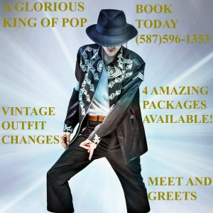 A Glorious King Of Pop Tribute - Michael Jackson Impersonator in Edmonton, Alberta