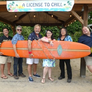 A license to chill  - Jimmy Buffett Tribute in Petaluma, California