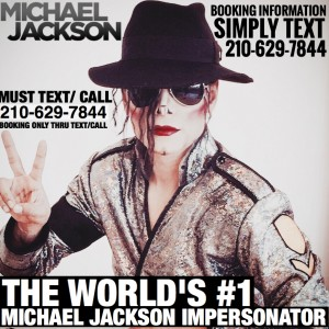 A Michael Jackson Impersonator - Michael Jackson Impersonator / Motivational Speaker in Houston, Texas