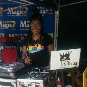 A Woman that can DJ/ MC