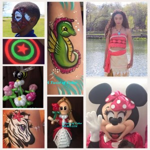 A Twist Of Color - Face Painter / Cartoon Characters in Jacksonville, Florida