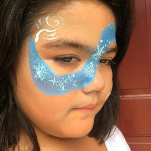 Abril's face paint - Face Painter in Rialto, California