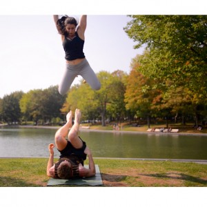 AcroYoga performances - Acrobat in Montreal, Quebec