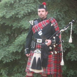 Adam Graham - Bagpiper in Hastings, Michigan