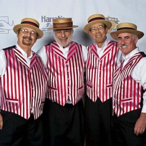 Added Attraction - Barbershop Quartet in San Diego, California