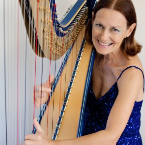 Adele Stinson, Harpist - Harpist / Tea Party in San Jose, California