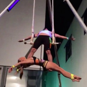 Aerial Attraction: Duo Trapeze - Trapeze Artist in San Diego, California