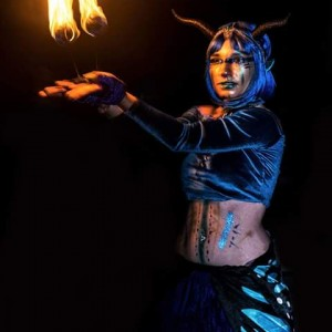 Aerial Celestial - Fire Performer in Lutz, Florida