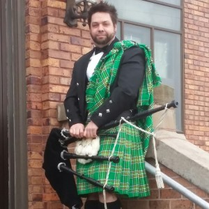 Christopher Schmitz, Bagpiper - Bagpiper in Redwood Falls, Minnesota